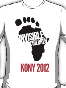 Invisible Children tee T-Shirt