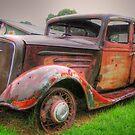 Bonnie and Clyde getaway car by Chris Brunton