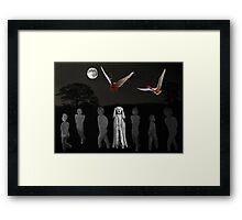 Scream I Love Rock And Roll Framed Print