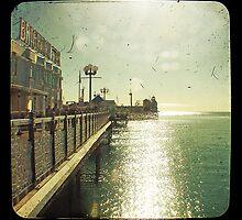 Brighton Pier Sun by iamsla