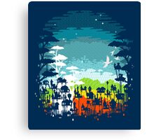 Rainforest city Canvas Print