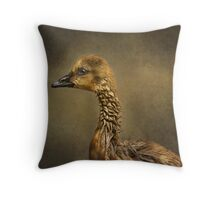 Gosling Profile Throw Pillow