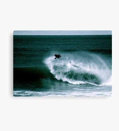 Big Air Forward Spin at Shark Island Canvas Print