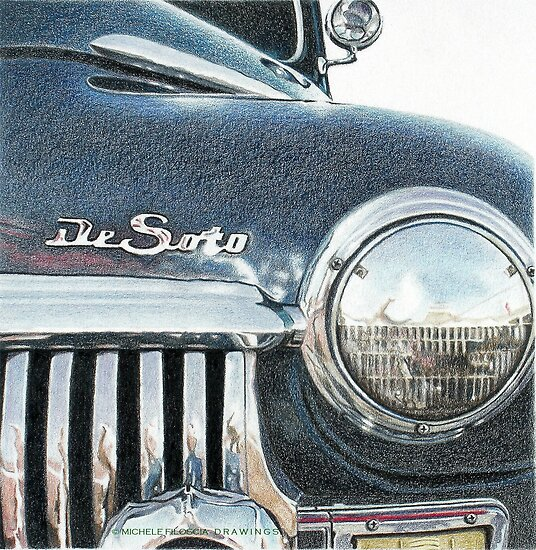 De Soto American Car by Michele Filoscia