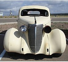 Old Car, Route 66 Photographic Print