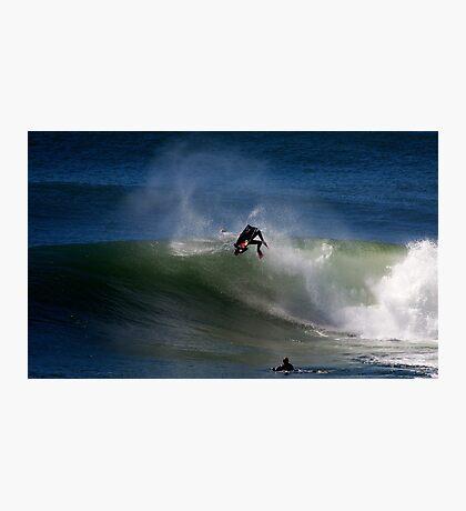 Ben Player Back Flip Shark Island Photographic Print