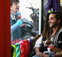 At the rasta hairdresser by JudyBJ
