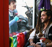 At the rasta hairdresser by JudyBJ