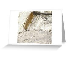 Gold and Silver Rush Greeting Card