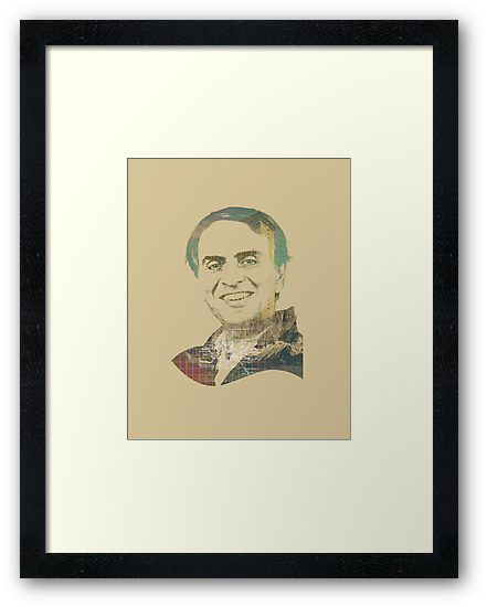 Carl Sagan by Mustapha Kamel