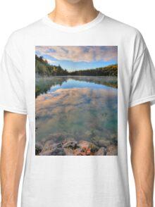 Pink Lake Reflections Classic T-Shirt