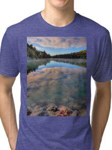 Pink Lake Reflections Tri-blend T-Shirt