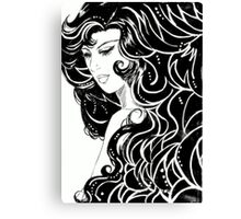 ''The Woman'' Canvas Print