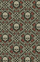 Skulls and roses by Julia Coalrye