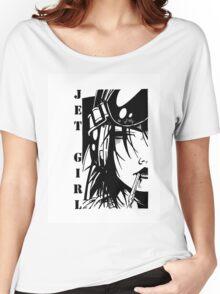 Jet Girl Women's Relaxed Fit T-Shirt