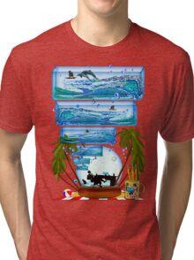 DESKTOP PARADISE Tri-blend T-Shirt