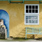 A Very Colourful Toilet Block by Simon Hickie