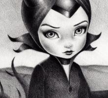 Little Maleficent Sticker
