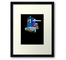 Time Travel Jump Start Framed Print
