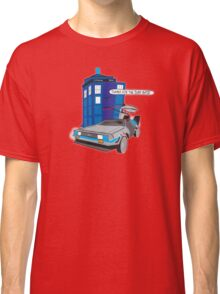Time Travel Jump Start Classic T-Shirt