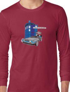 Time Travel Jump Start Long Sleeve T-Shirt