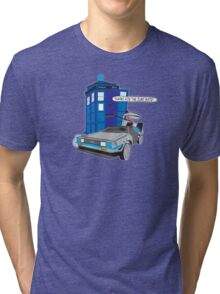 Time Travel Jump Start Tri-blend T-Shirt