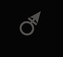 Male Symbol by Nick Martin