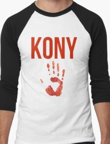Kony T-Shirt Men's Baseball ¾ T-Shirt