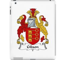 Gibson Coat of Arms / Gibson Family Crest iPad Case/Skin