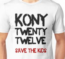 Kony T-Shirt - Save the Kids Unisex T-Shirt