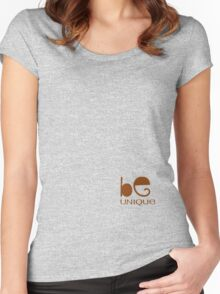 Unique Women's Fitted Scoop T-Shirt