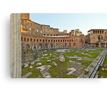 Ancient Rome Ruins Canvas Print