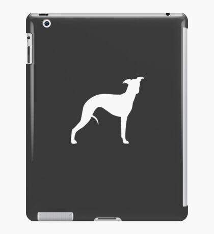 Whippet Silhouette(s) iPad Case/Skin