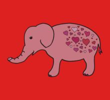 Elephant Love Kids Tee
