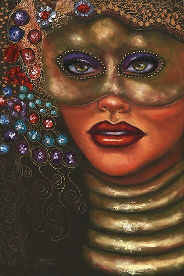 Who is that masked woman by Alga Washington
