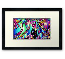 Triangle Visions Framed Print