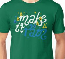 Song of Storms - Make It Rain Unisex T-Shirt