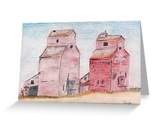Faded Sentinels Greeting Card