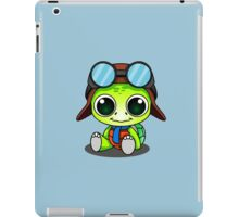 Cute Chibi Aviator Turtle iPad Case/Skin