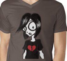 Emo Memo Mens V-Neck T-Shirt