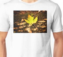 Yellow Leaf Unisex T-Shirt