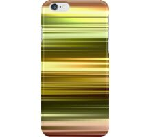 Colorful Rainbow Golden Streams of Light iPhone Case/Skin