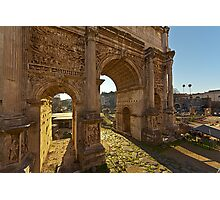 Ancient Rome Ruins Photographic Print