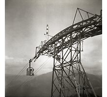 Cable Car, Austria Photographic Print