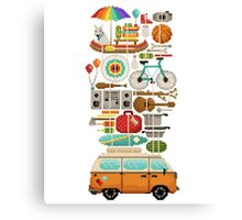 Best trip ever Canvas Print
