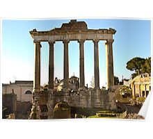 Ancient Rome Ruins Poster