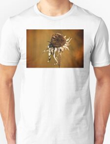 Earth tone flower T-Shirt