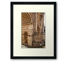 Ancient Rome Ruins Framed Print