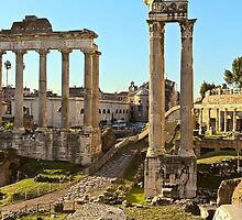 Ancient Rome Ruins by derejeb