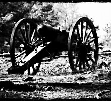 Civil War Cannon, Kennesaw Battlefield, Marietta, Ga. by Scott Mitchell